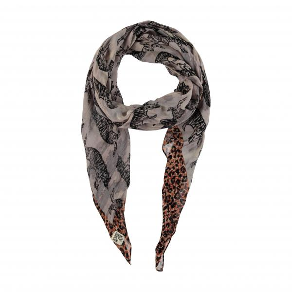 1073Scarf_woven_printed_oblong_Grey
