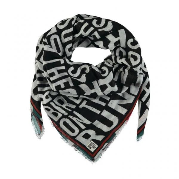 1079Scarf_Woven_printed_cotton_Black
