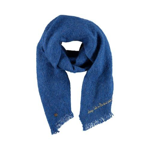 1286Woven_boucle_scarf_embroidery_blue