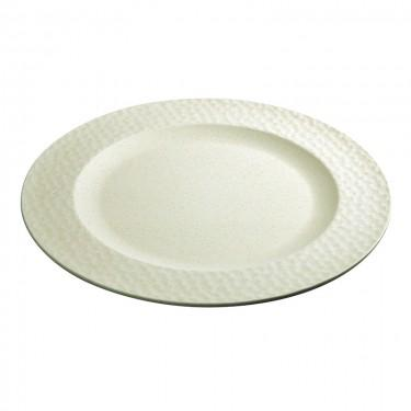 302Plate_large_hammered_white