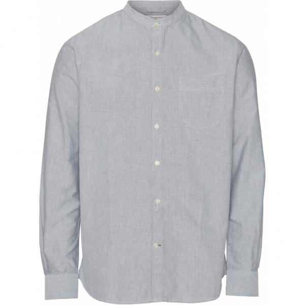 913ELDER_LS_stand_collar_shirt_Green_F