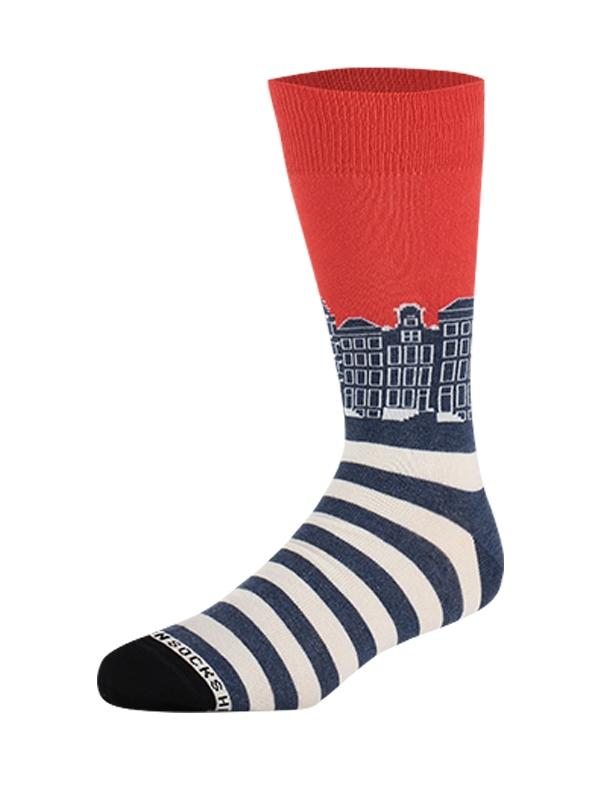 Heroes_on_Socks_Grachten_Blue_41_46