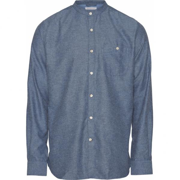 Knowledge_Elder_Regular_Fit_Flannel_Shirt_dark_denim_1