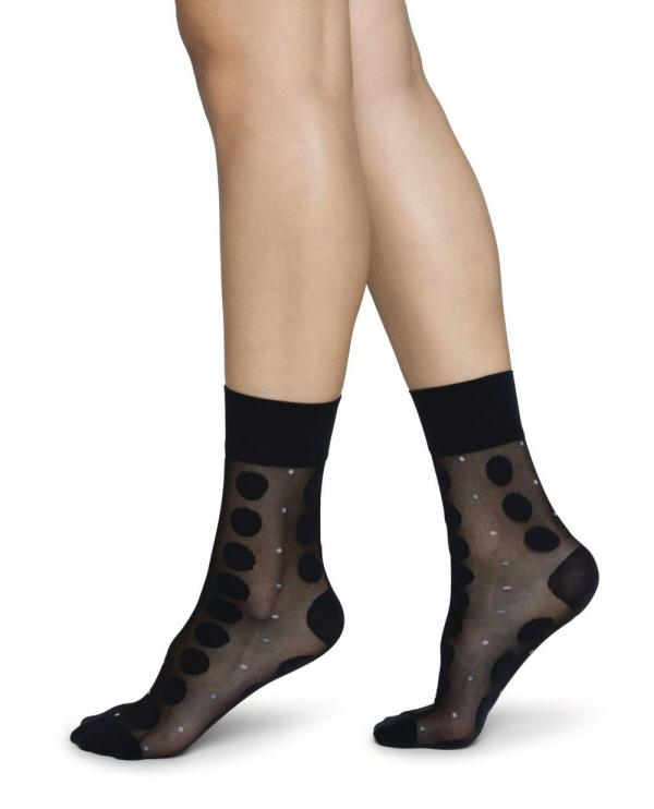 Swedish_Stockings_Viola_dot_sock_black